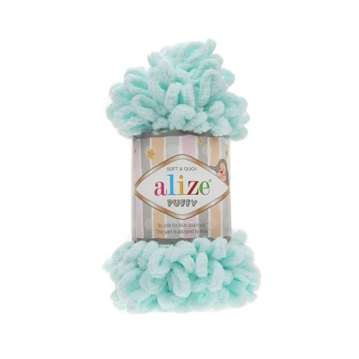 ALIZE PUFFY - 15 WATER GREEN