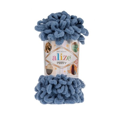 ALIZE PUFFY - 374 BLUE
