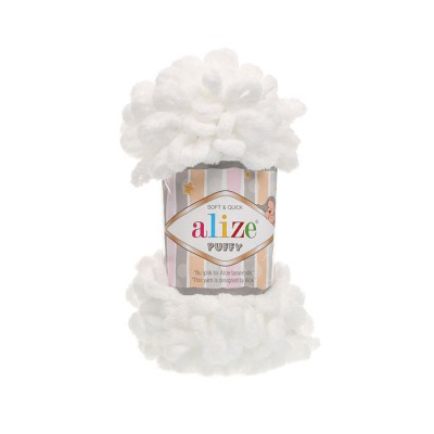 ALIZE PUFFY - 55 WHITE