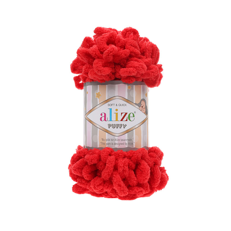 ALIZE PUFFY - 56 RED