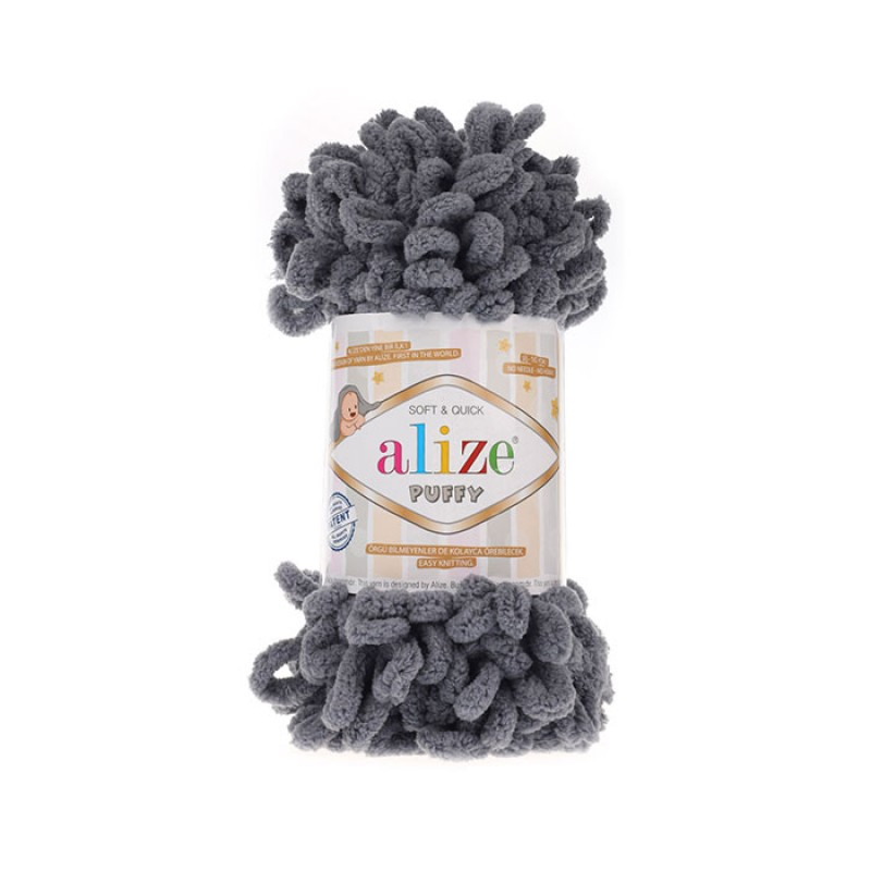 ALIZE PUFFY - 87 DARK GRAY
