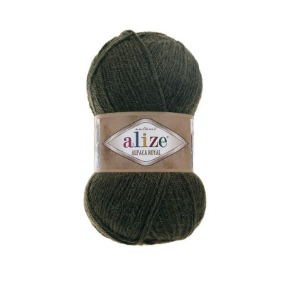 ALIZE ALPACA ROYAL - 567 GREEN MELANGE