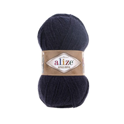 ALIZE ALPACA ROYAL - 58 NAVY BLUE