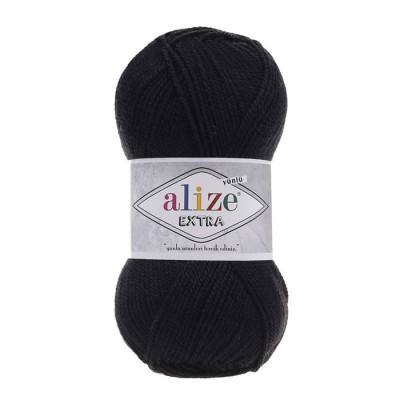 ALIZE EXTRA - 60 BLACK