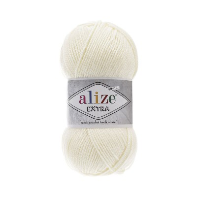 ALIZE EXTRA - 62 LIGHT CREAM