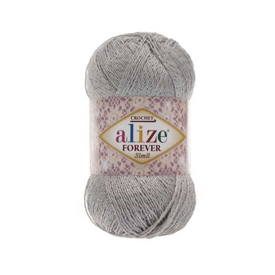 ALIZE FOREVER SIM - 52 LIGHT GRAY