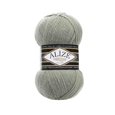 ALIZE SUPERLANA KLASIK - 138 GREEN ALMOND