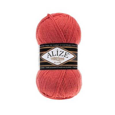 ALIZE SUPERLANA KLASIK - 154 CORAL