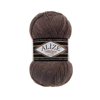 ALIZE SUPERLANA KLASIK - 240 COFFEE MILK