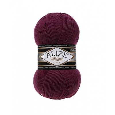 ALIZE SUPERLANA KLASIK - 307 PLUM