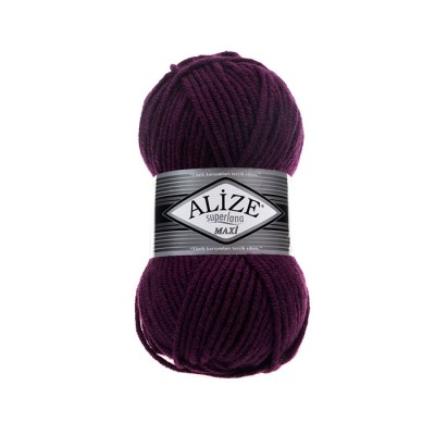 ALIZE SUPERLANA MAXI - 111 PLUM