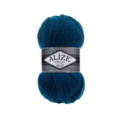 ALIZE SUPERLANA MAXI - 155 MIKANOS BLUE