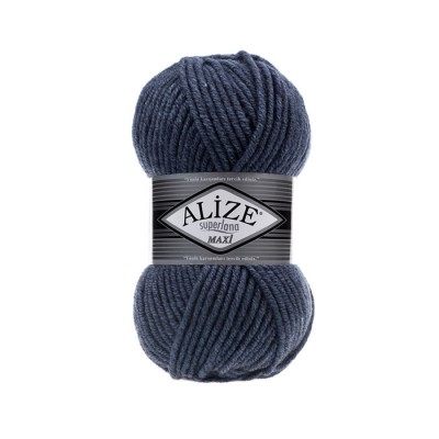 ALIZE SUPERLANA MAXI - 203 DENIM MELANGE