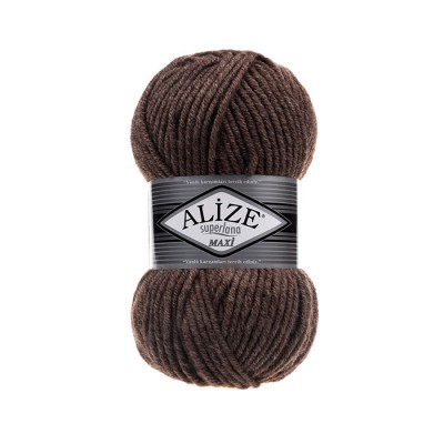 ALIZE SUPERLANA MAXI - 240 MILKY BROWN MELANGE