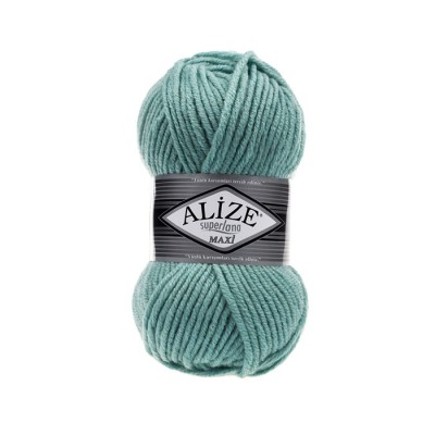 ALIZE SUPERLANA MAXI - 463 LIGHT AQUA