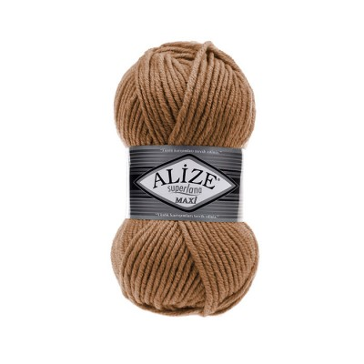 ALIZE SUPERLANA MAXI - 499 MILK COFFE