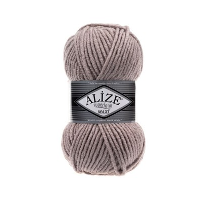 ALIZE SUPERLANA MAXI - 652 SMOKE