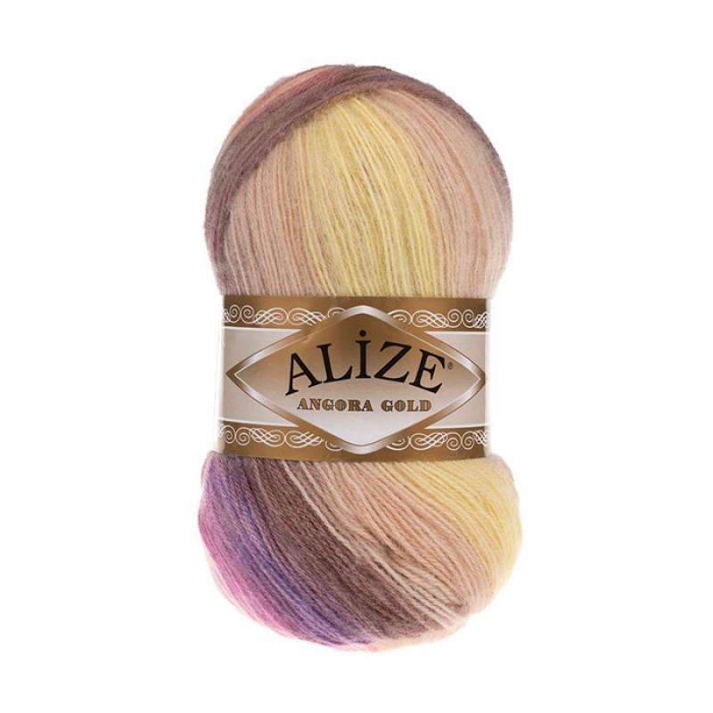 ALIZE ANGORA GOLD BATIK - 6954