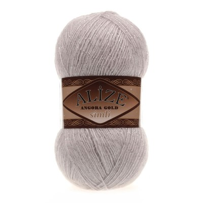 ALIZE ANGORA GOLD SIMLI - 168 WINTER WHITE