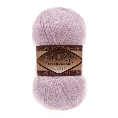 ALIZE ANGORA GOLD SIMLI - 452 LIGHT ROSE