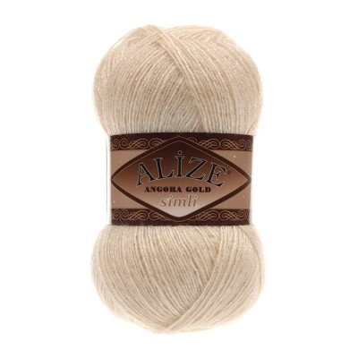 ALIZE ANGORA GOLD SIMLI - 67 CANDLE LIGHT