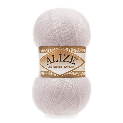 ALIZE ANGORA GOLD - 168 WINTER WHITE