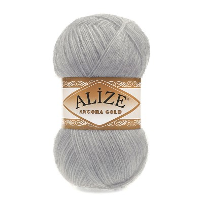 ALIZE ANGORA GOLD - 21 GRAY