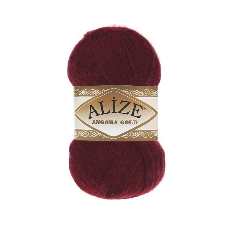 ALIZE ANGORA GOLD - 57 BORDEAUX