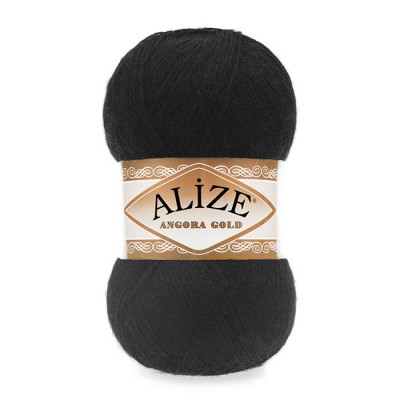 ALIZE ANGORA GOLD - 60 BLACK