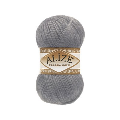 ALIZE ANGORA GOLD - 87 COAL GRAY