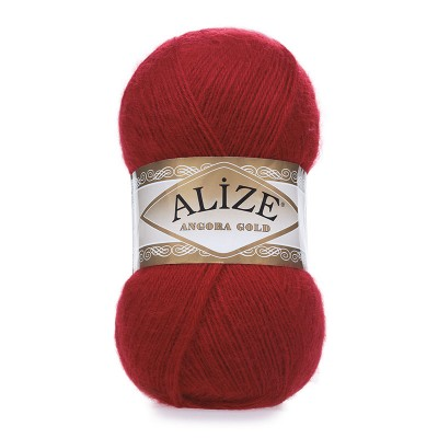 ALIZE ANGORA GOLD - 106 RED