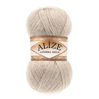 ALIZE ANGORA GOLD - 152 BEIGE MELANGE