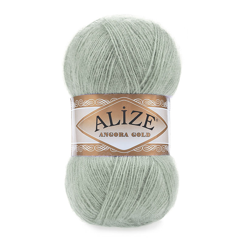 ALIZE ANGORA GOLD - 515 GREEN ALMOND