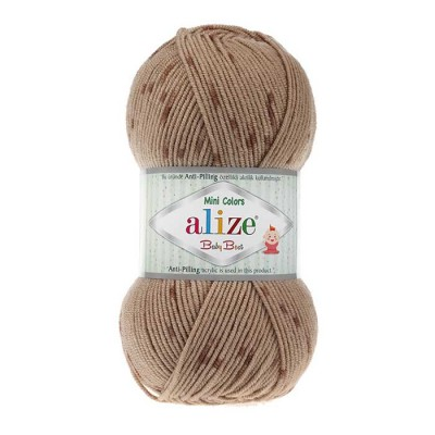 ALIZE BABY BEST MINI COLORS - 6934 BROWN