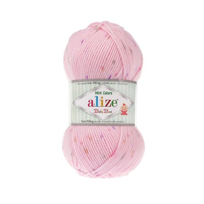 ALIZE BABY BEST MINI COLORS - 6947 PINK