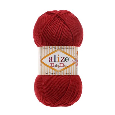 ALIZE BABY BEST - 106 CRIMSON