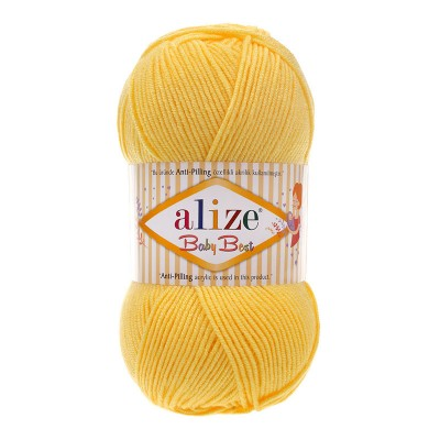 ALIZE BABY BEST - 113 YELLOW