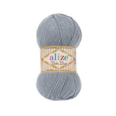 ALIZE BABY BEST - 119 SILVER GRAY