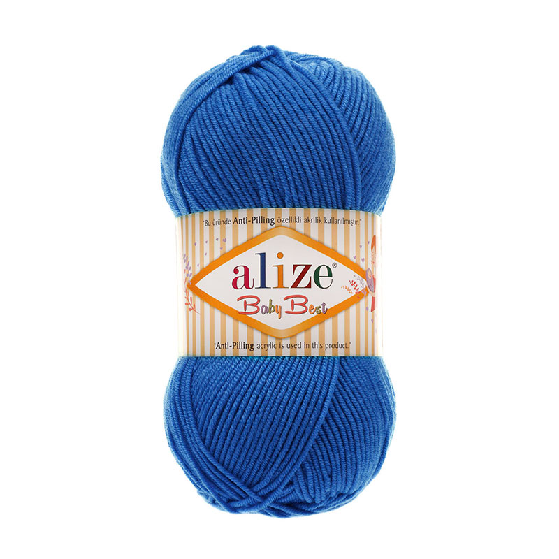 ALIZE BABY BEST - 141 ROYAL BLUE