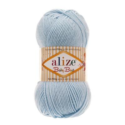 ALIZE BABY BEST - 183 LIGHT BLUE