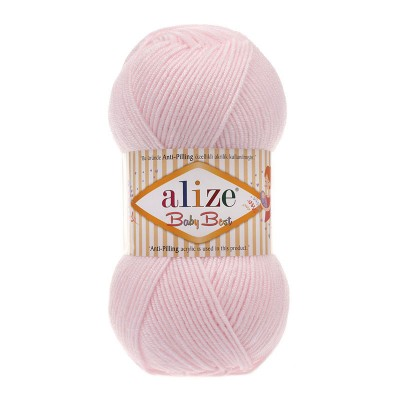 ALIZE BABY BEST - 184 POWDER PINK