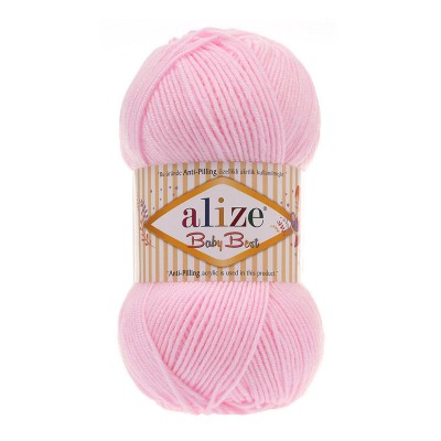 ALIZE BABY BEST - 185 POWDER PINK