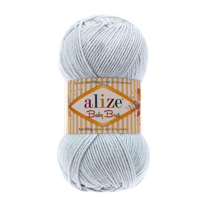 ALIZE BABY BEST - 224 LIGHT GRAY