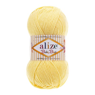 ALIZE BABY BEST - 250 LIGHT YELLOW