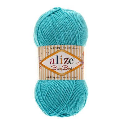 ALIZE BABY BEST - 287 TORQUOISE
