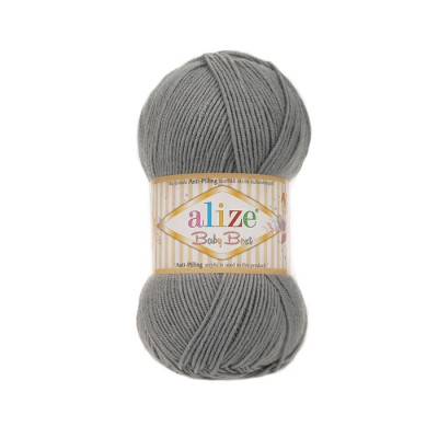 ALIZE BABY BEST - 344 GRAY