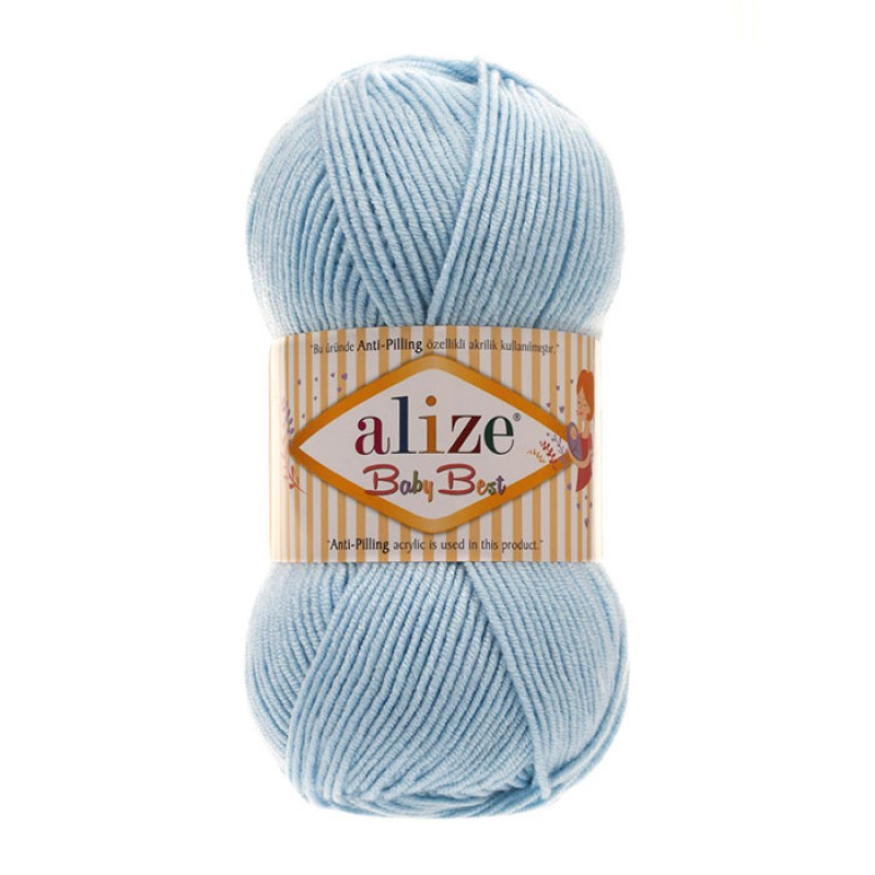 ALIZE BABY BEST - 40 BLUE
