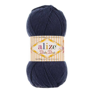ALIZE BABY BEST - 58 NAVY BLUE