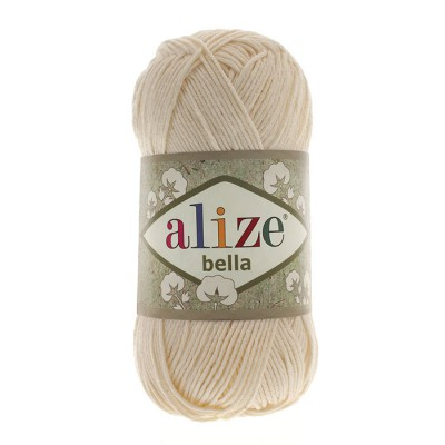 ALIZE BELLA - 01 CREAM