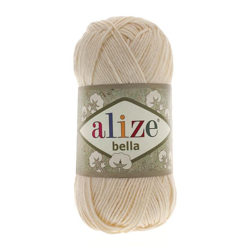 ALIZE BELLA - 01 CREAM